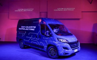 New Ducato Electric BEV Ideal For Fleet Managers