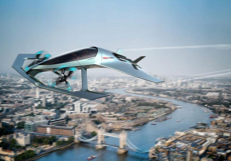 "New Aston Martin ""Volante Vision"" Aims to Bring Luxury Personal Air Mobility"