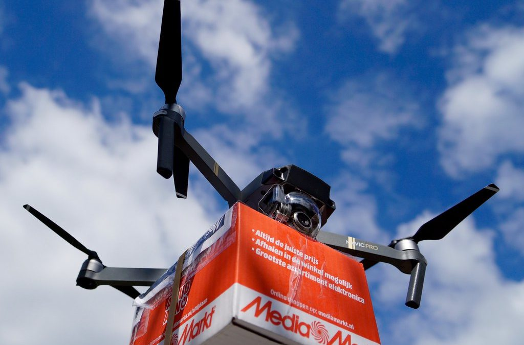 Flying taxis and Delivery Drones